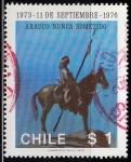 Sellos de America - Chile -  Arauco nunca  sometido