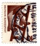 Stamps : Europe : Germany :  serie prevencion de accidente