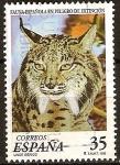 Sellos del Mundo : Europa : España : Fauna española en peligro de extinción-Lince Ibérico