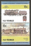 Sellos del Mundo : Oceania : Tuvalu : locomotora japonesa