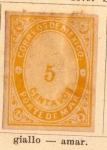 Stamps America - Mexico -  Porte de Mar Ed 1879