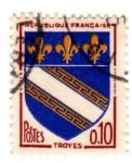 Sellos de Europa - Francia -  Troyes