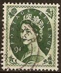 Sellos del Mundo : Europa : Reino_Unido : Reina Isabel II