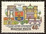 Sellos del Mundo : Europa : Hungría : Ciudades del Dunakanyar-Vác