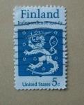 Stamps United States -  Final de la independencia. Escudo de Armas. 1917-1967