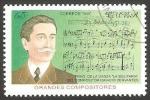 Sellos del Mundo : America : Cuba : 3657 - compositor Ignacio Cervantes