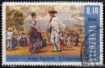 Sellos del Mundo : America : Venezuela : Danzas Populares. El Tamunangue.