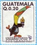 Stamps Guatemala -  Juegos Universitarios Centroamericanos y del Caribe