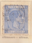 Stamps America - Cuba -  Alfonso XII Ed 1879