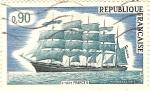 Stamps France -  5 Mâts France II