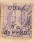 Sellos del Mundo : America : Cuba :  Presidente Lincoln Ed 1899