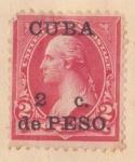 Sellos de America - Cuba -  Presidente Washington Ed. 1899
