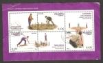 Stamps Spain -  4421 - Juegos y Deportes Tradicionales, los bolos