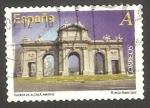 Sellos del Mundo : Europa : España : Puerta de Alcala en Madrid