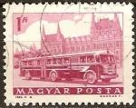 Sellos de Europa - Hungría -  Autobús y el Parlamento