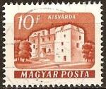 Sellos del Mundo : Europa : Hungría : castillo-Kisvarda