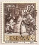 Sellos del Mundo : Europa : España : Velázquez - Las Meninas