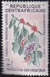 Stamps Africa - Central African Republic -  protecion de los vegetales