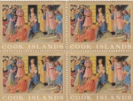 Stamps Oceania - Cook Islands -  adoracion