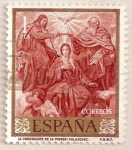 Stamps : Europe : Spain :  Velázquez - La coronación de la Virgen
