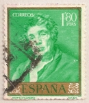 Stamps : Europe : Spain :  Velázquez - Esopo