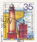 Sellos de Europa - Alemania -  faros