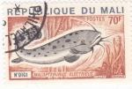 Sellos del Mundo : Africa : Mali : peces