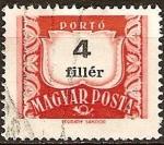 Sellos de Europa - Hungría -  Portes debidos