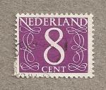 Stamps Netherlands -  Filigrana