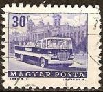 Sellos de Europa - Hungría -  autobús turístico