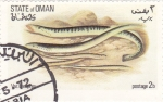 Stamps Oman -  anguilas