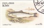 Sellos de Asia - Omán -  peces