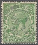 Stamps : Europe : United_Kingdom :  REINO UNIDO_SCOTT 187.01 JORGE V. $0.9