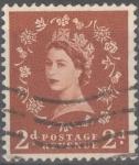 Stamps : Europe : United_Kingdom :  REINO UNIDO_SCOTT 356 REINA ISABEL. $0.2