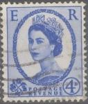 Stamps : Europe : United_Kingdom :  REINO UNIDO_SCOTT 359 REINA ISABEL. $0.4