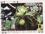 Sellos del Mundo : Africa : Comores : frutas tropicales
