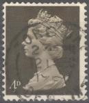 Stamps : Europe : United_Kingdom :  REINO UNIDO_SCOTT MH6.01 REINA ISABEL. $0.2