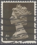 Stamps : Europe : United_Kingdom :  REINO UNIDO_SCOTT MH6.02 REINA ISABEL. $0.2