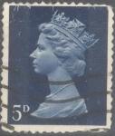 Stamps : Europe : United_Kingdom :  REINO UNIDO_SCOTT MH8 REINA ISABEL. $0.2