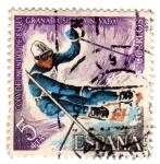 Stamps : Europe : Spain :  sierra nevada