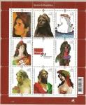 Stamps Portugal -  Bustos de la República