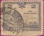 Stamps Peru -  Pro Tacna y Arica. CIII
