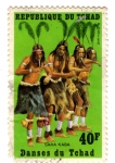Stamps Africa - Chad -  danzas del chad