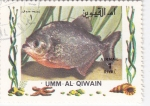 Stamps United Arab Emirates -  peces tropicales