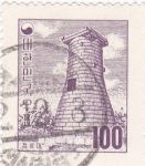 Stamps Asia - South Korea -  Torre