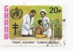 Sellos del Mundo : Asia : Ghana : vacuna de la tuberculosis