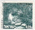 Stamps : Asia : Israel :  tel dan