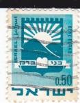 Sellos de Asia - Israel -  bene beraq
