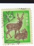 Stamps : Asia : Japan :  fauna