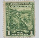 Stamps of the world : Colombia :  minas de esmeraldas